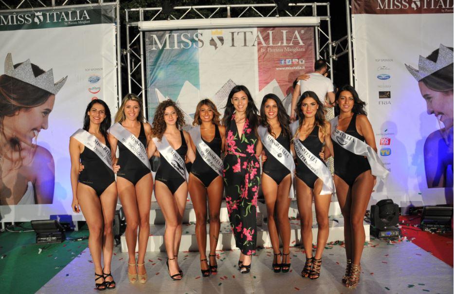 Le sette miss e Linda Suriano
