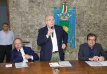 Mario Oliverio durante il suo intervento