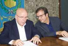 Mario Oliverio e Mario Occhiuto metropolitana leggera