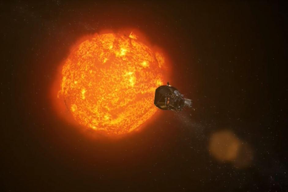 La sonda Parker in una ricostruzione video della Nasa