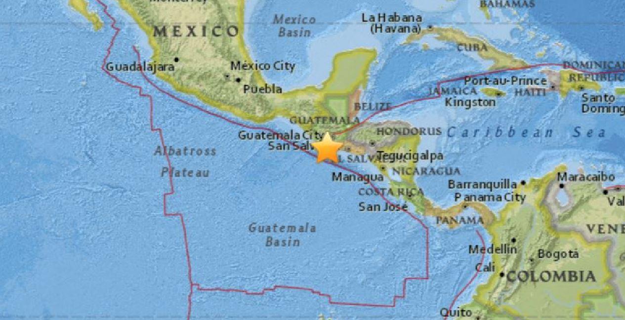 Terremoto Guatemala, potente scossa di magnitudo 6.8