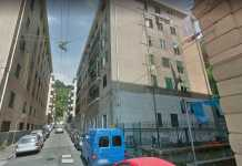 Via Pellegrini Sampierdarena Ge
