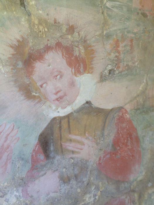 Scoperte strutture murarie ed affreschi ad Oriolo, forse del '400
