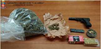 Arma e droga, arrestato un pregiudicato di Limbadi