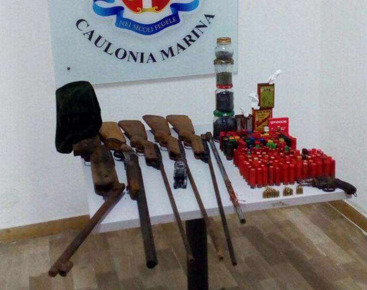 armi munizioni caulonia