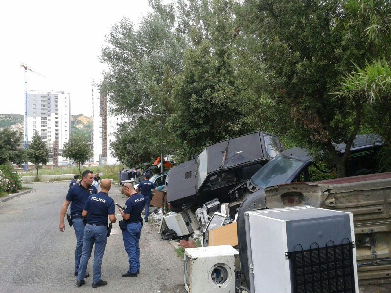 auto rubate polizia Cosenza