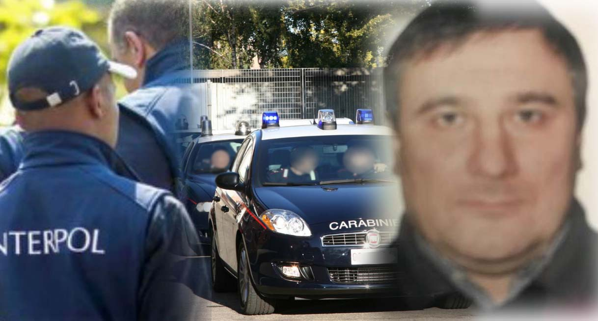 A destra il latitante ucraino arrestato Andrii Yarysh