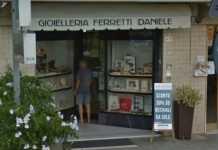 La gioielleria Daniele Ferretti a Pisa