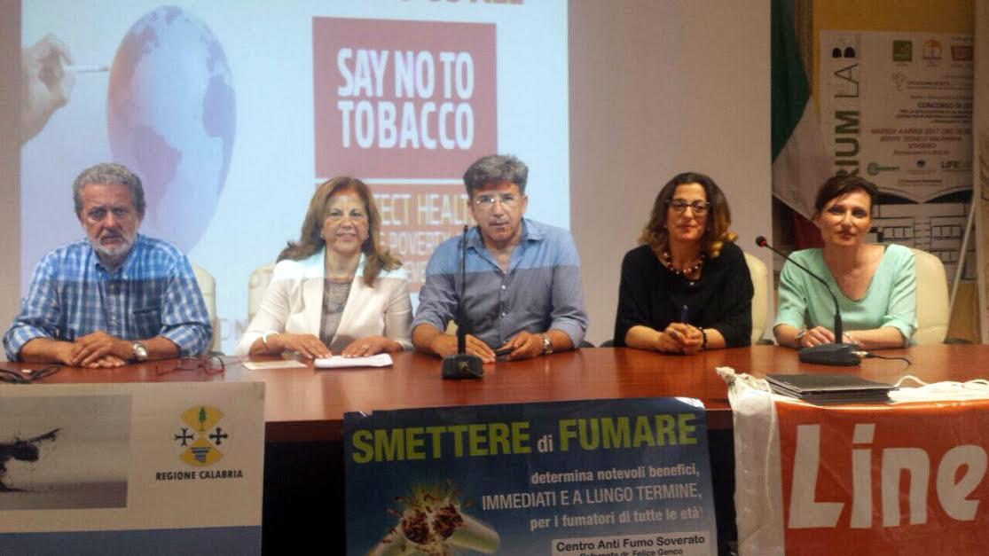 giornata nazionale contro tabacco soverato