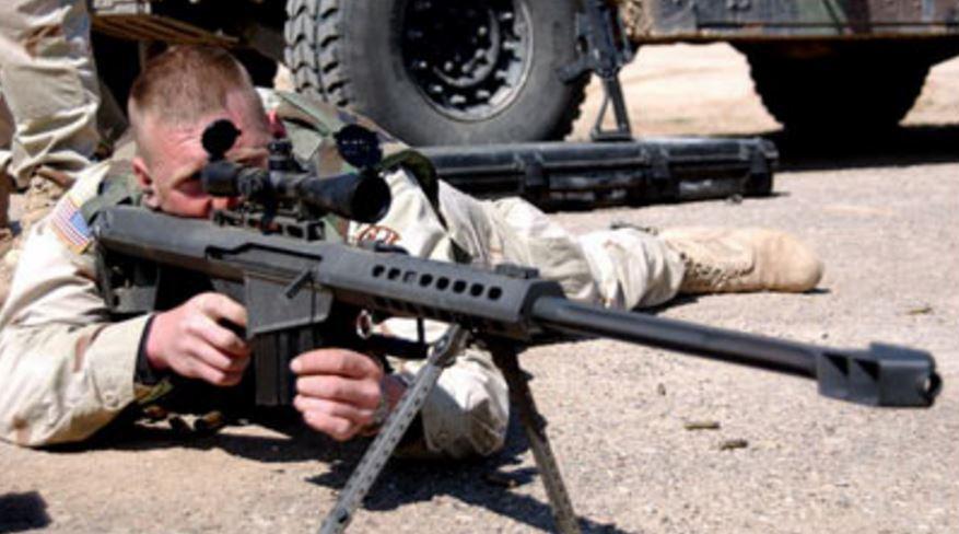 il fucile McMillan TAC 50