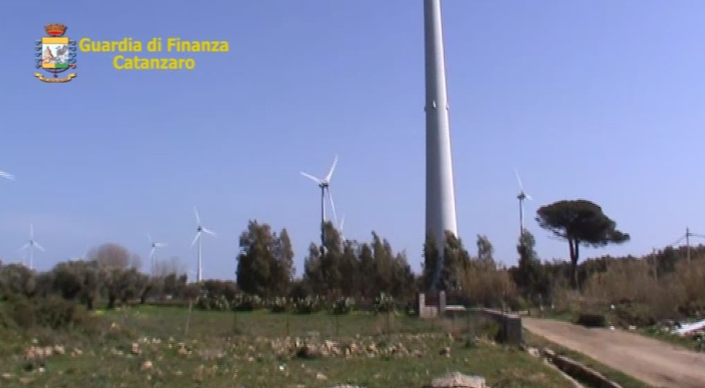 Confiscato parco eolico, vale 350 mln