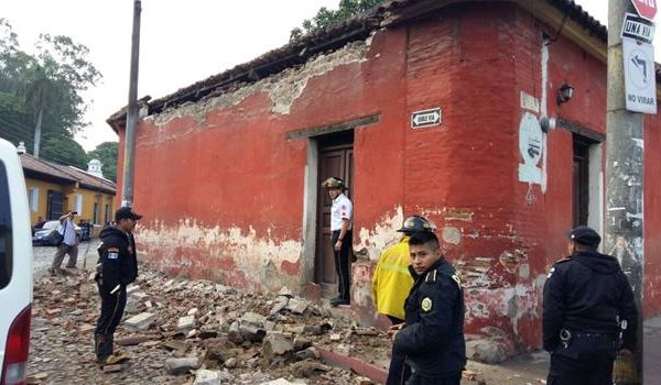 Guatemala, terremoto di magnitudo 6.8