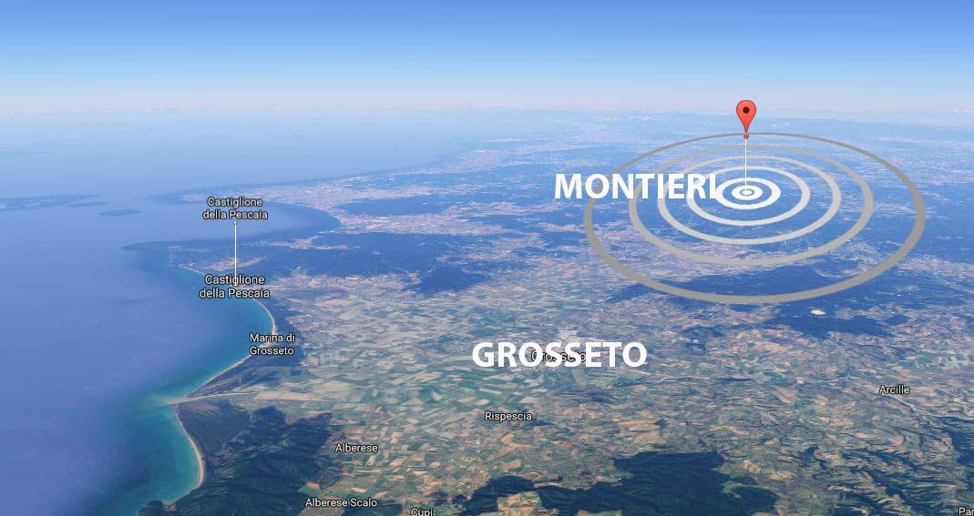 Terremoto di magnitudo 3.9 a Pizzoli