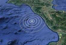 terremoto Paola mare
