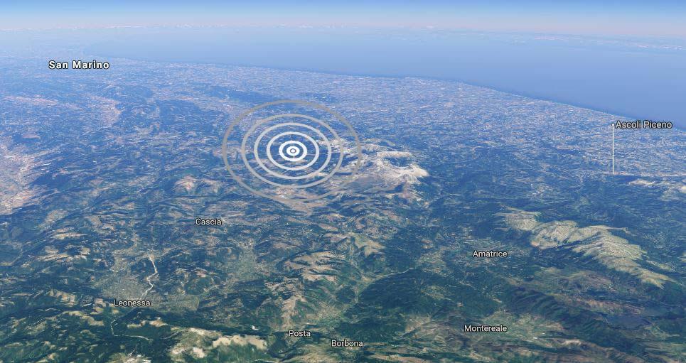 Terremoto Macerata Oggi: Scossa 3.5 a Castelsantangelo sul Nera