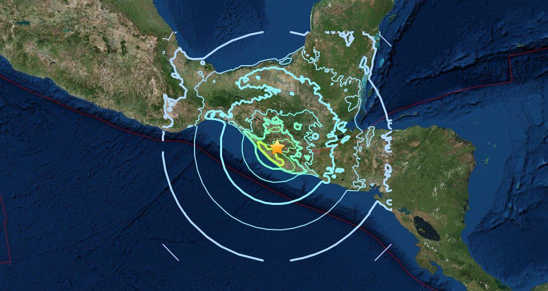 TERREMOTO: fortissima scossa magnitudo 6.9 Richter in Guatemala