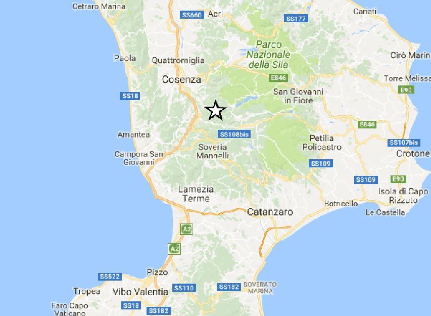 terremoto parenti rogliano