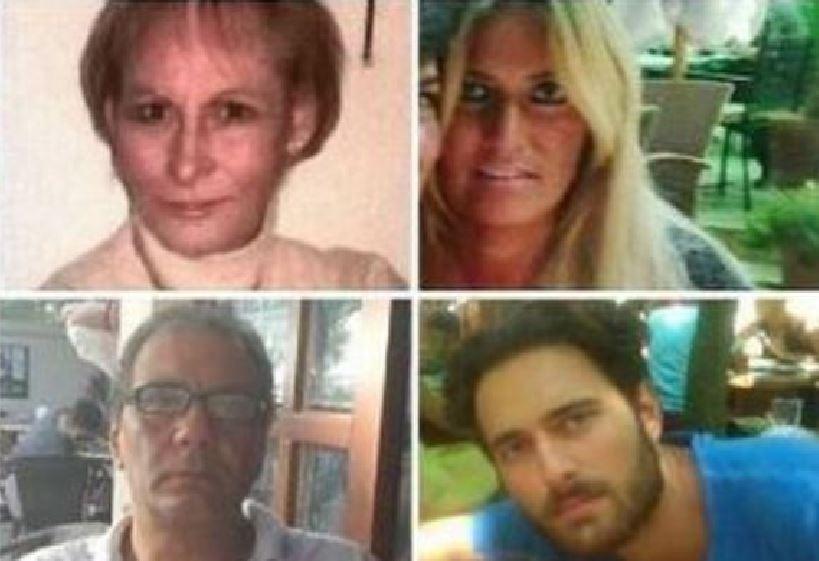 Alcune delle vittime a Torre Annunziata