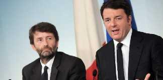 Dario Franceschini Matteo Renzi direzione Pd