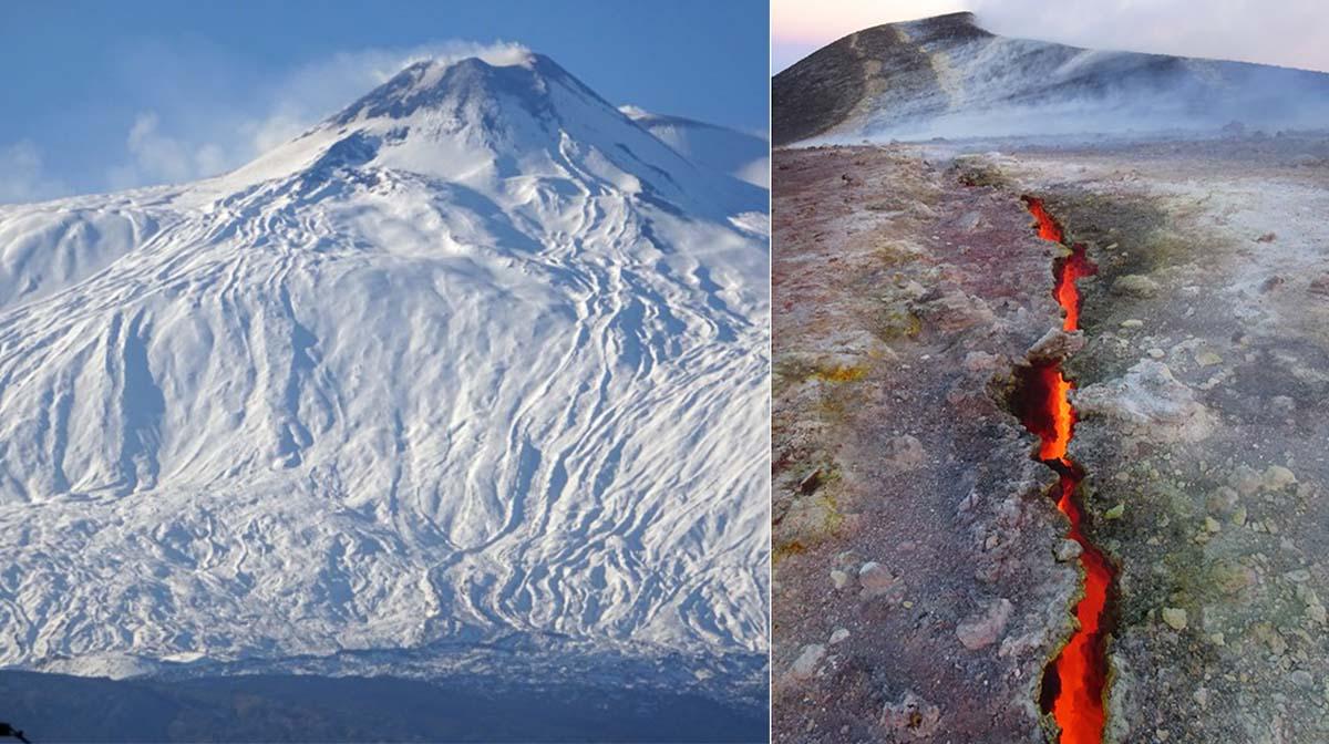 Gas sotto i vulcani, così erutta l'Etna. Studio Ingv su Nature