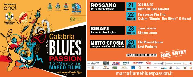 Festival Check Calabria Blues Passion
