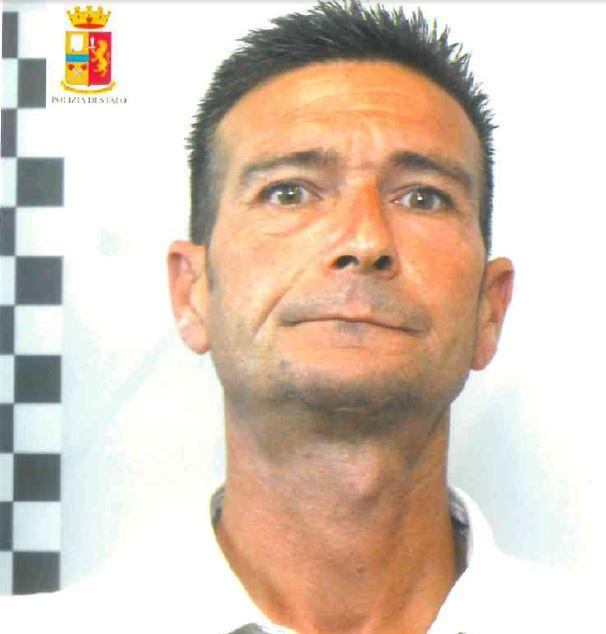 Il presunto autore della tentata rapina Francesco Pacini