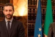 da sinistra i consiglieri provinciali Francesco Gervasi e Ugo Gravina contro il Ceta