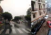 Pioggia in Calabria