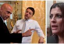 sinistra Minniti, Renzi e Jole Santelli