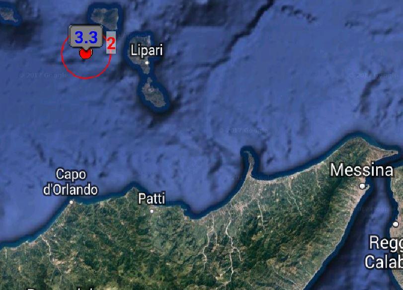 Terremoto Eolie Lipari Messina