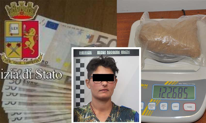 arresto per droga donna Cosenza