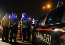 carabinieri incidente notte