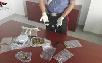 Armi e droga, due arresti a Lamezia Terme