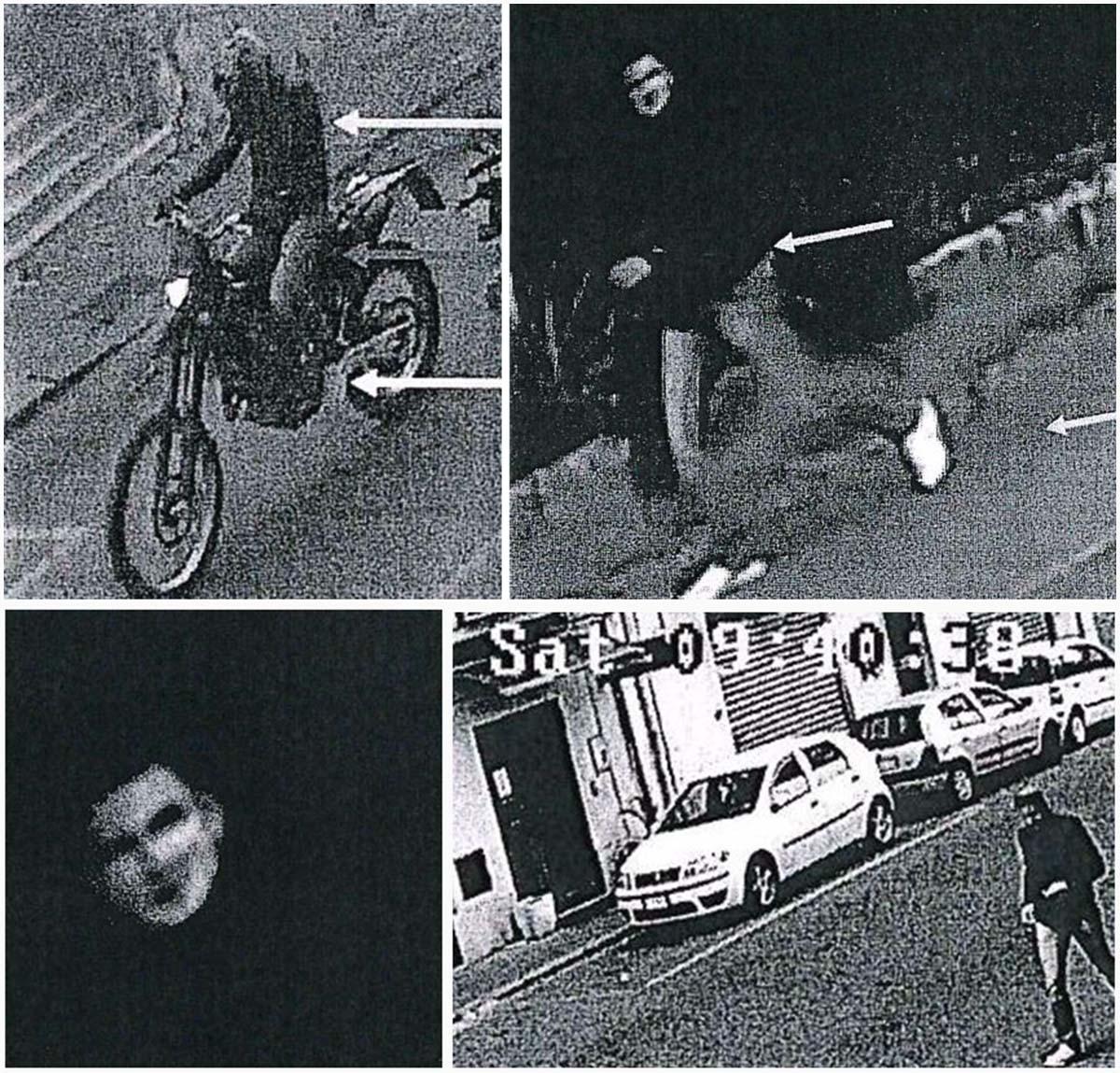 Una sequenza della ricostruzione dell'identikit del presunto killer di Gregorio Mezzatesta, Marco Gallo