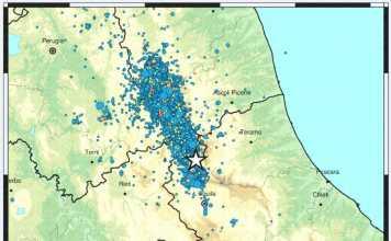 terremoto Campotosto Amatrice 4.2