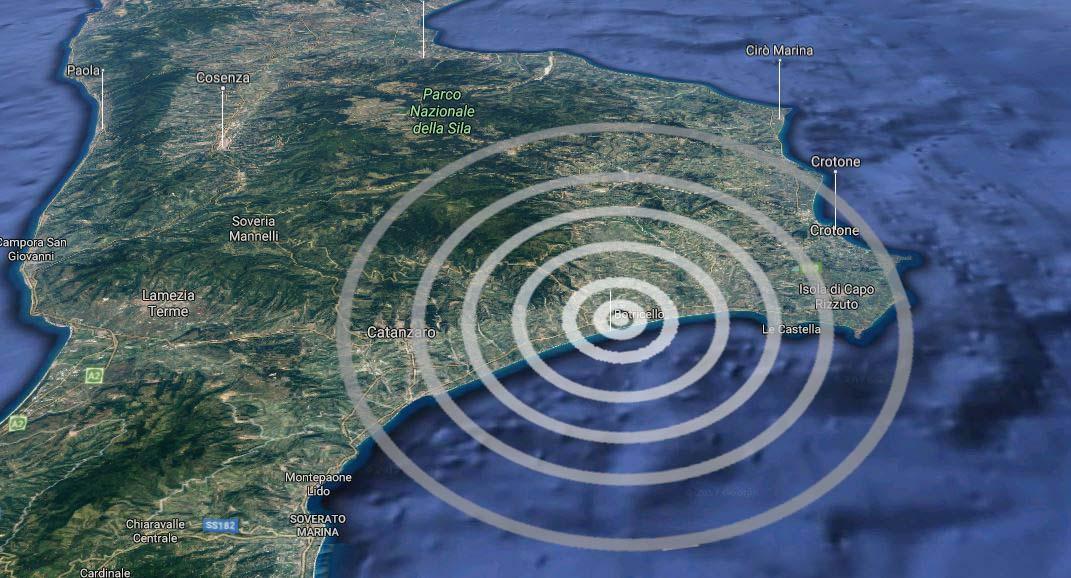 Terremoto oggi, INGV: piccola scossa magnitudo 2.2 a Carapelle (Puglia)