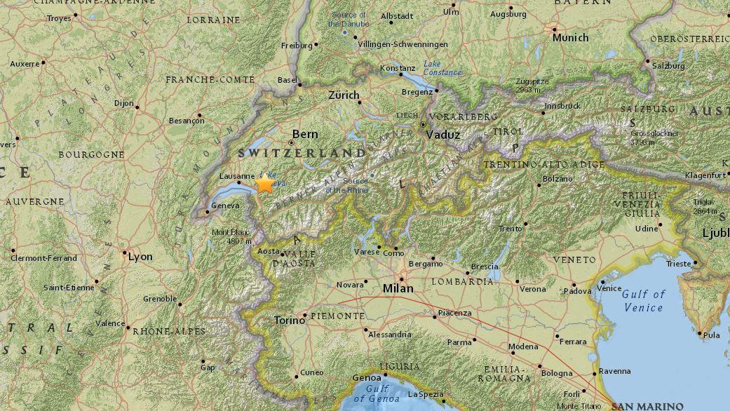 Terremoto, scossa di magnitudo 3.9 al confine con l'Umbria