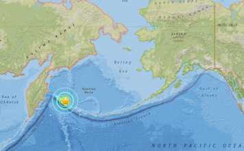terremoto mar bering russia