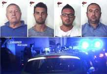 Arrestati famiglia Cara