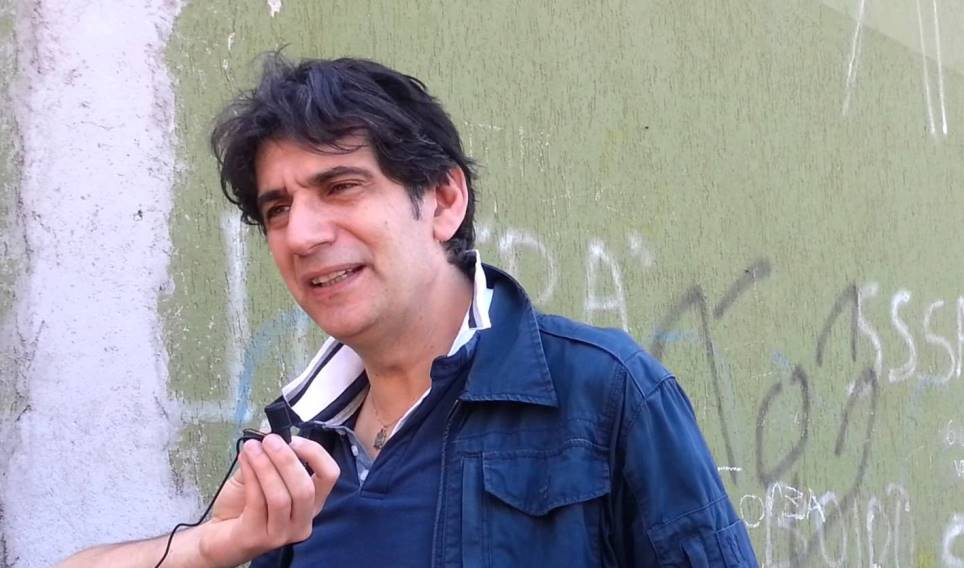 Il capo della Protezione civile Calabria, Carlo Tansi