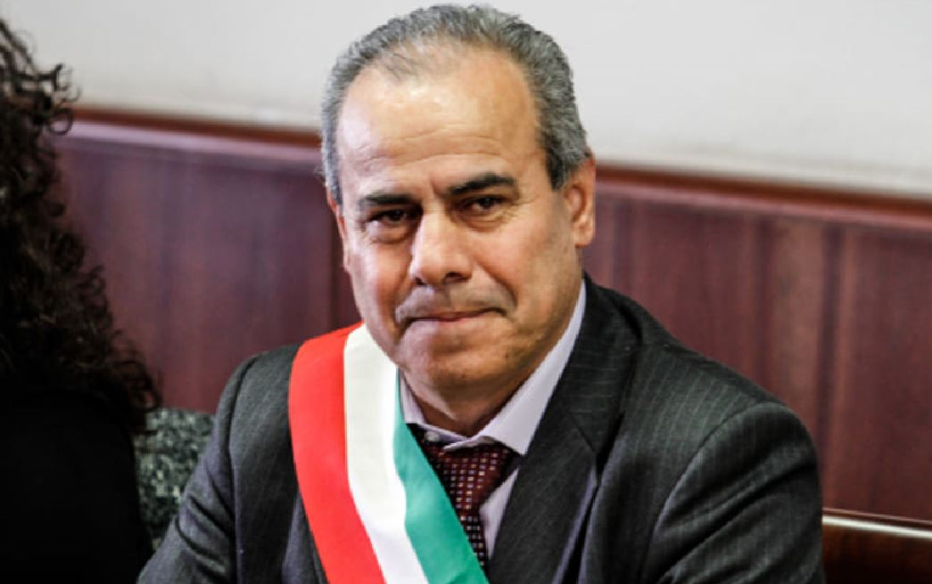 Il sindaco di Torre del Greco, Ciro Borriello
