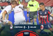 Crotone Milan 20-ago-2017
