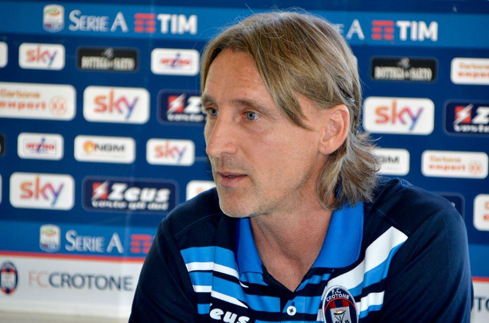 Davide Nicola, allenatore del Crotone