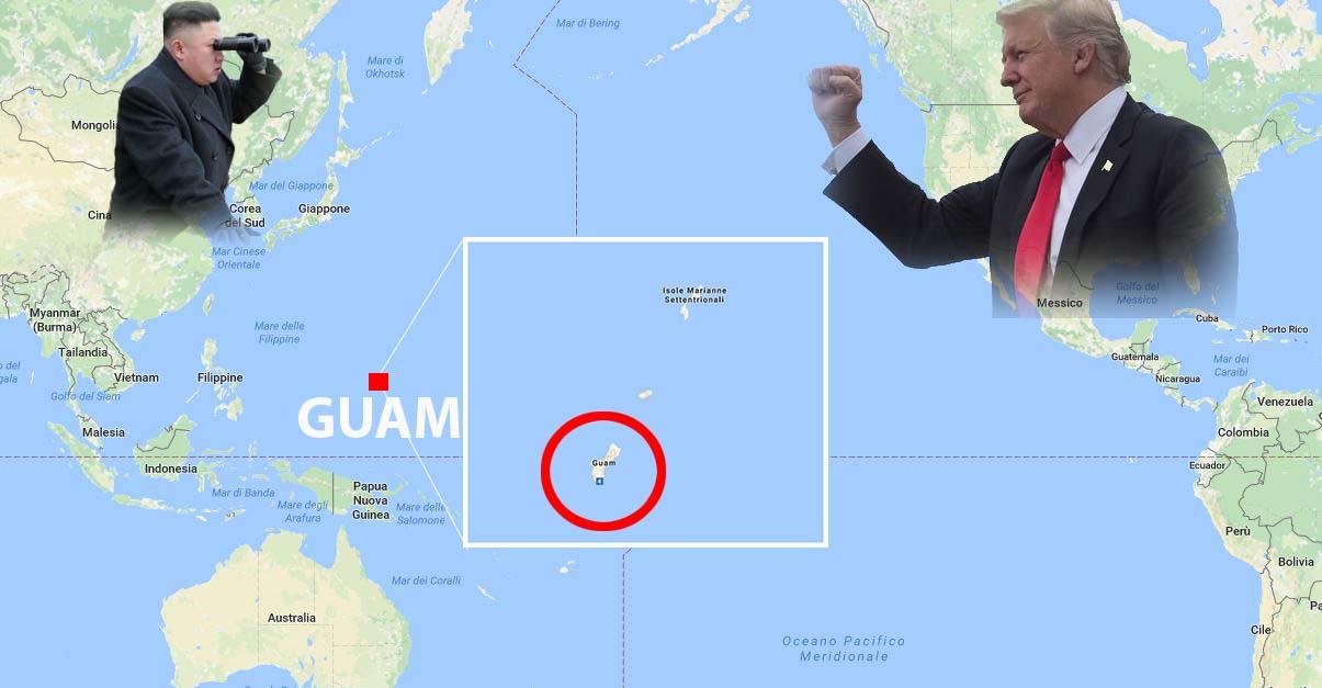 Guam Kim Trump