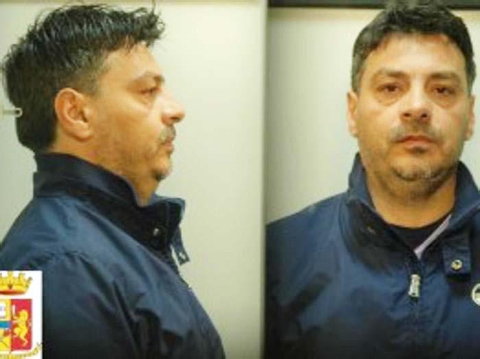 Mario Luciano Romito in una foto diffusa dalla Polizia