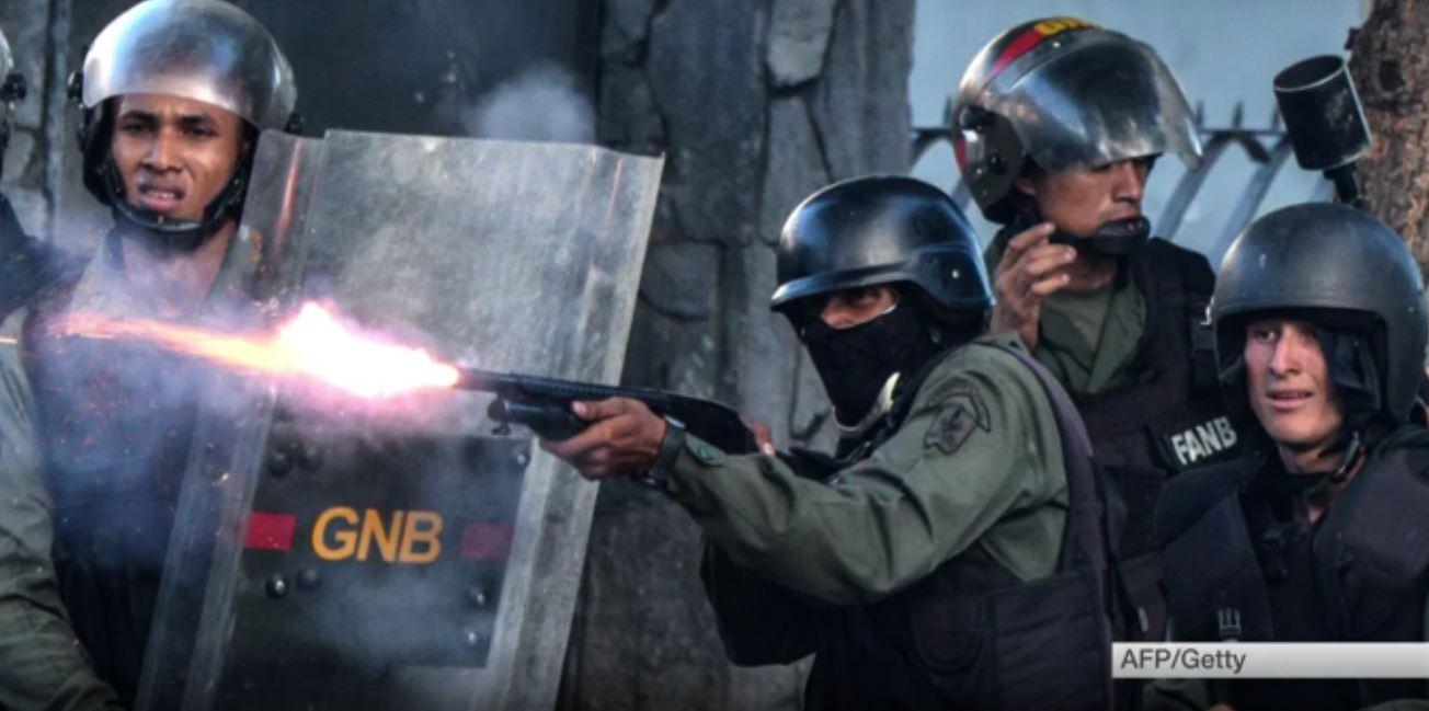 Rivolta militare in Venezuela