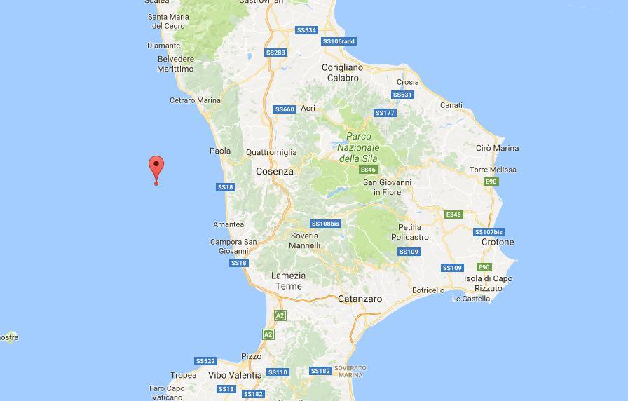 Terremoto Paola Cosenza