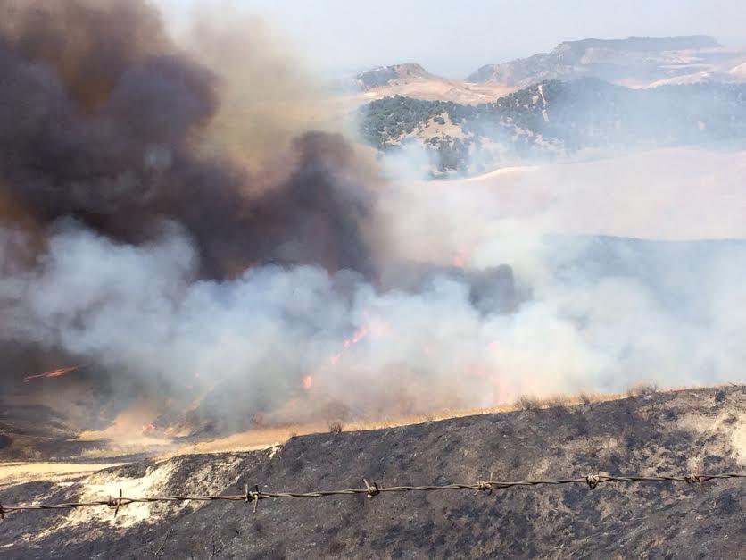incendio Strongoli