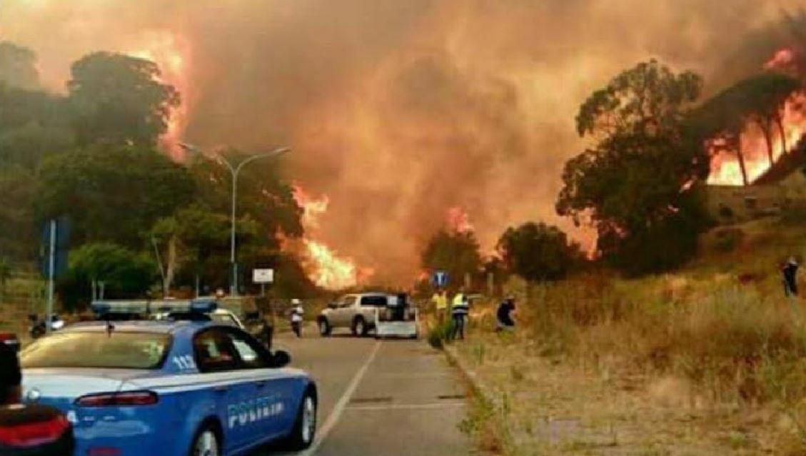 Appicca incendio ma viene segnalato da cittadino. Arrestato