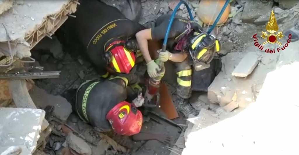 salvataggio terremoto Ischia